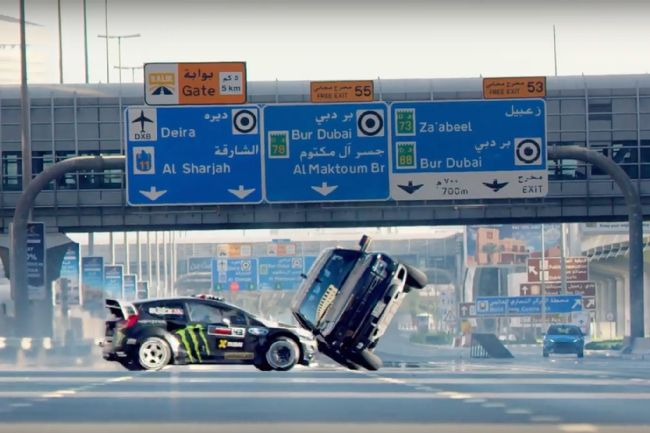 Ken Block Ultimate Exotic Playground en Dubai