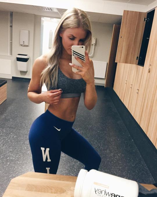 Las mejores fotos con las chicas del gym para motivarte