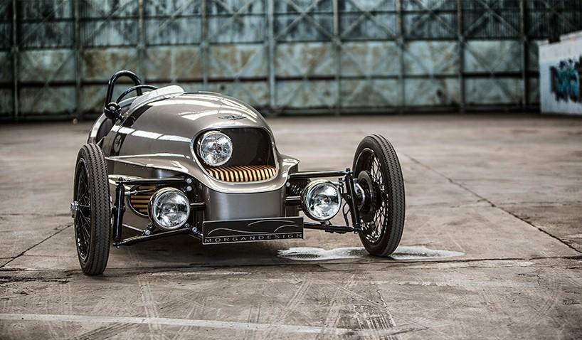 Morgan EV3 un eléctrico que parece traído del pasado