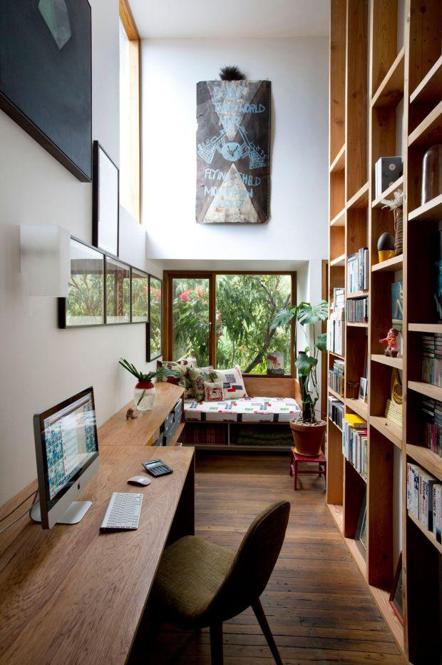 Decoración de Oficinas usando madera #27