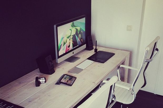 Decora tu oficina en casa 31 el124 for Oficina en casa diseno
