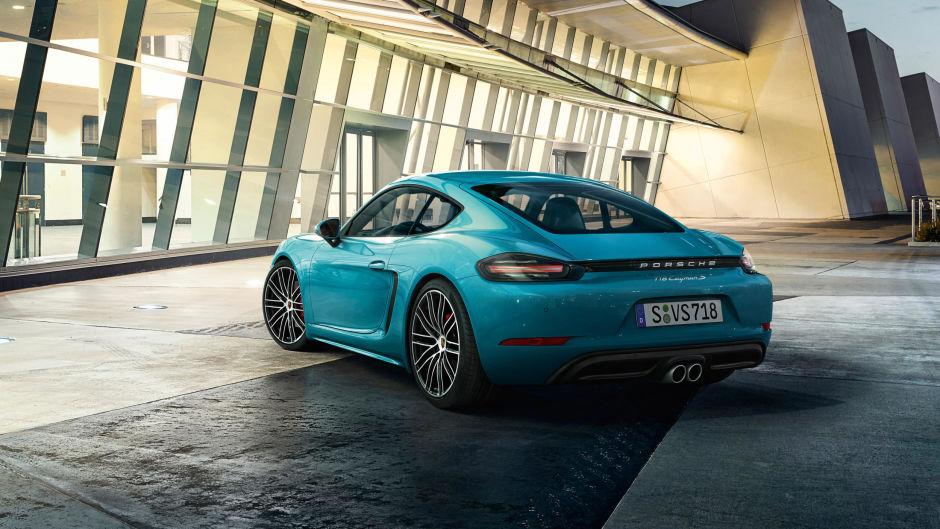 El nuevo Porsche 718 Cayman está increíble