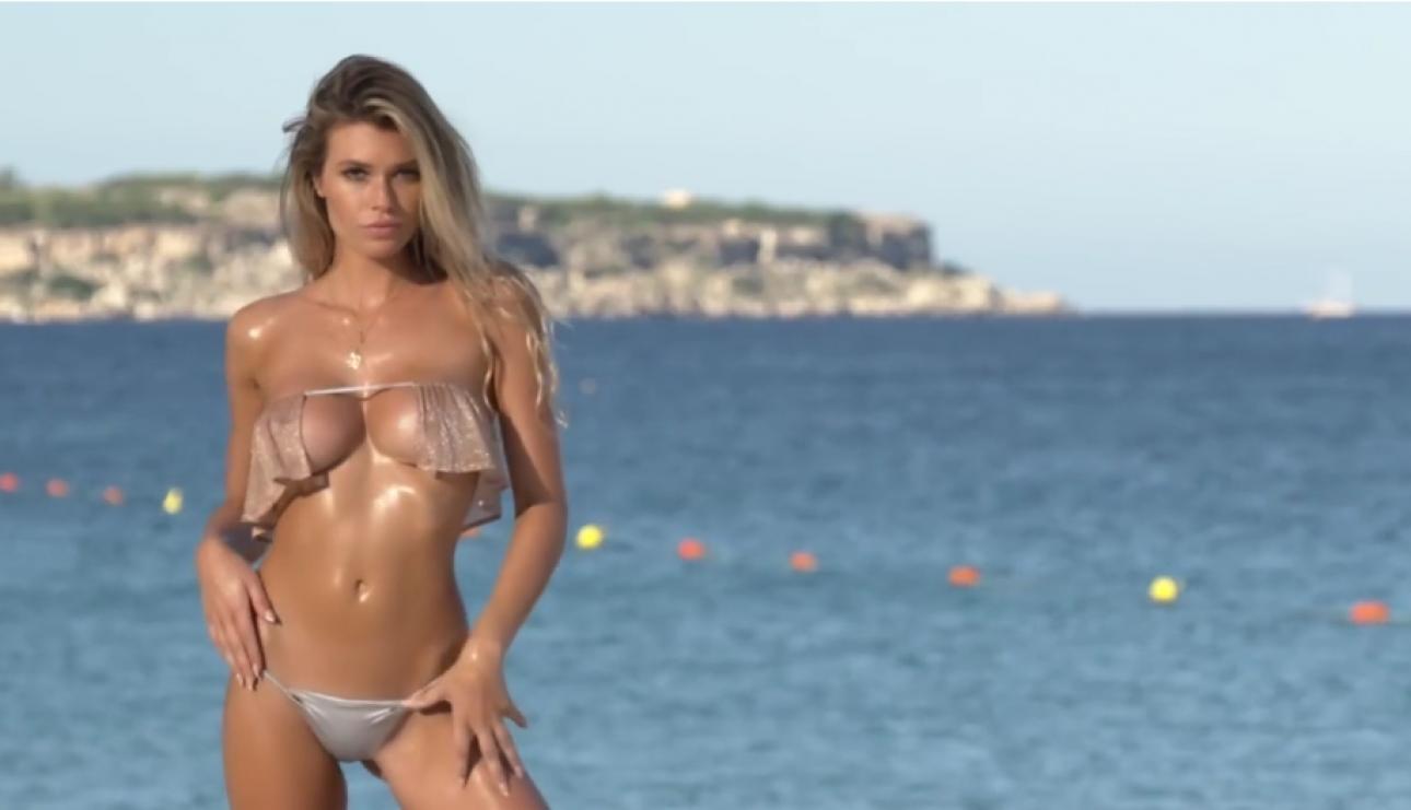 Samantha Hoopes en bikini le da la bienvenida al fin de semana