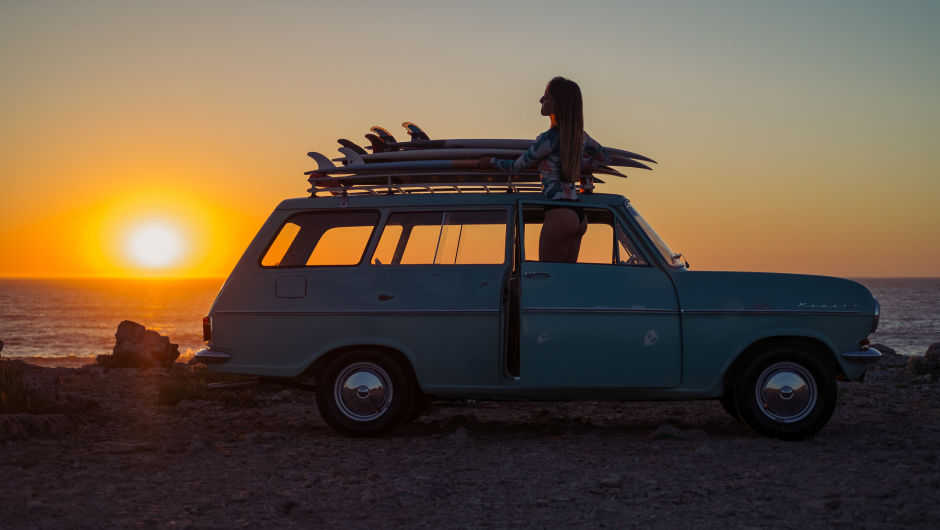 El carro ideal para ir a surfear