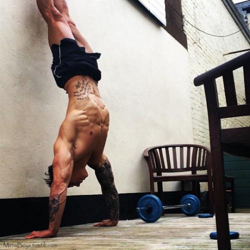Chicos del gym para motivar