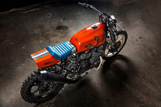 Kawasaki Z500 un clásico convertido en un monstruo
