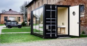 Una Oficina en un Container, diseño de oficinas #37