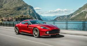 El impresionante Aston Martin Vanquish Zagato edición limitada