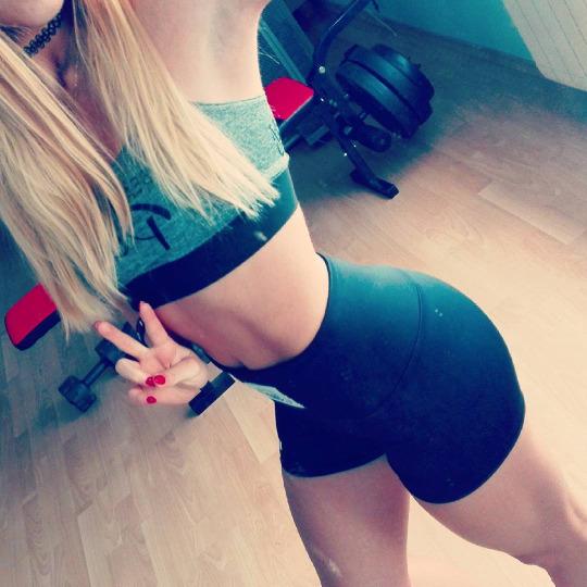 Las fotos de las mujeres fitness nos motivan a entrenar