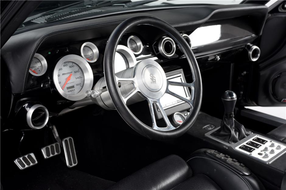 Impresionante Ford Mustang 1967 Supercargado Fastback