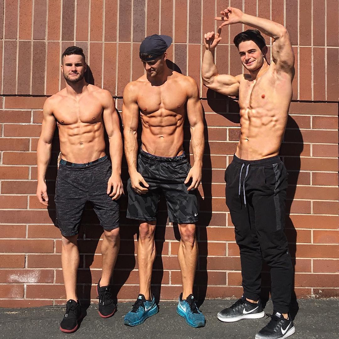 A marcar y definir con los chicos del gym - El124