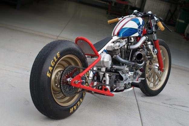 Impresionante Ironhead Sportster de 1979 y 1000cc