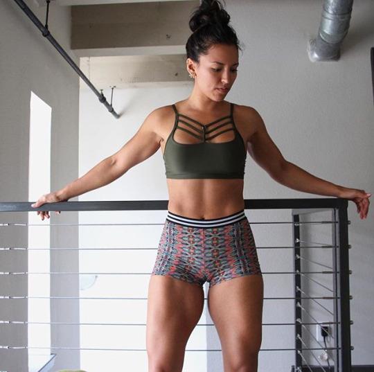 Las chicas del gym muestran sus resultados