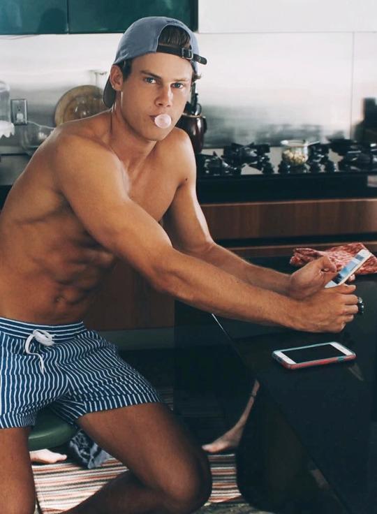 Los hombres del gym se ven así