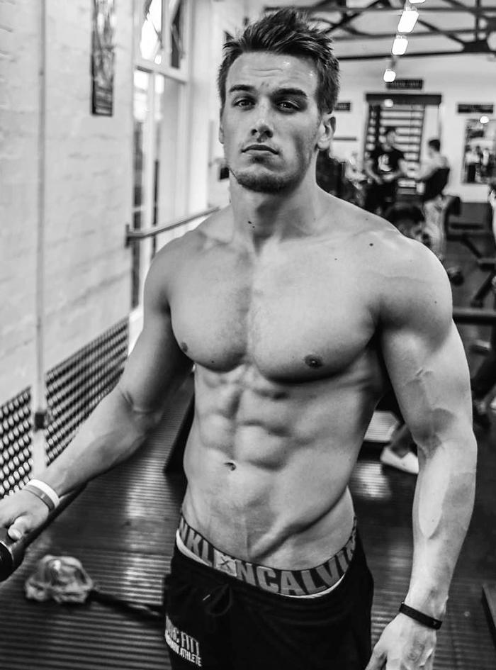 Motivación de jueves con los hombres fit