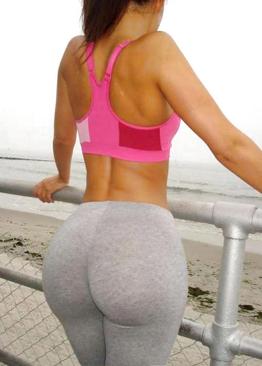 A sudar con las chicas del gym