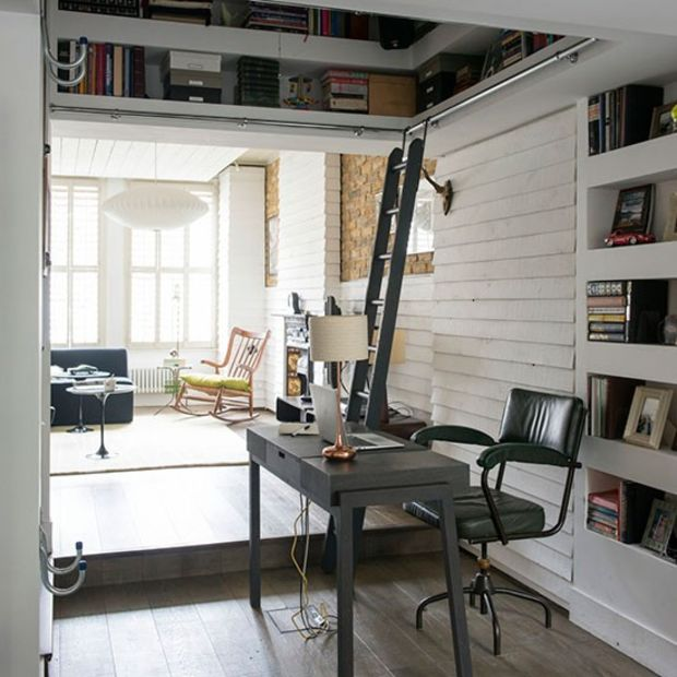 Inspiraci n e ideas para tu oficina en casa 49 el124 - Tu oficina en casa ...