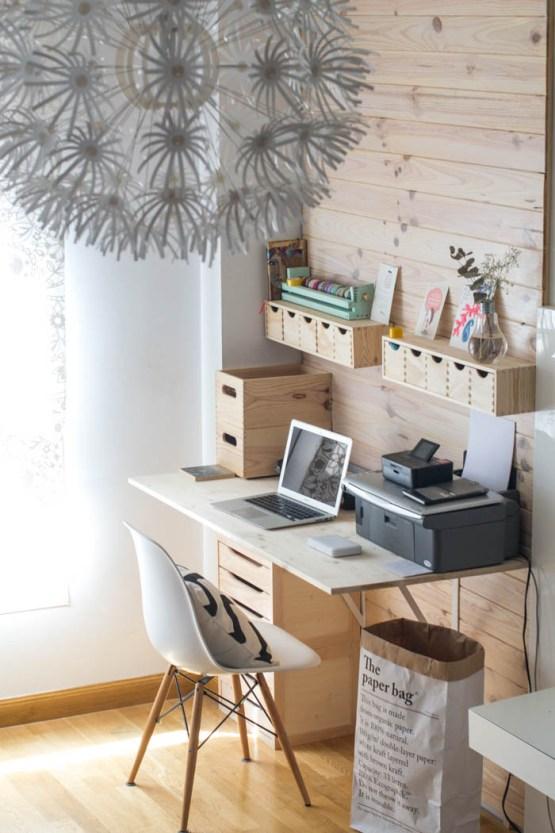 Oficinas en casa minimalistas 51 el124 - Espacios de trabajo ikea ...