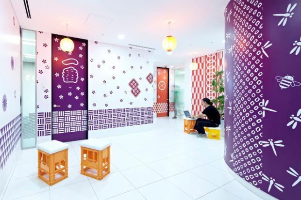Inspiradoras oficinas de google tokyo 47 el124 for Oficina postal mas cercana