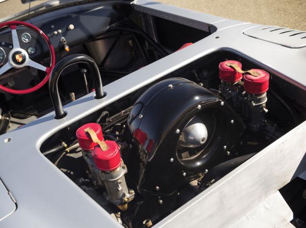 Precioso y genial Porsche 718 RS 61 Spyder de 1961