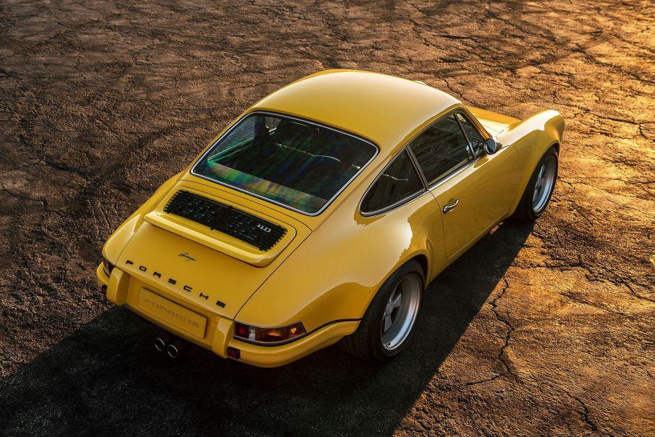 Sexy Porsche 911 restaurado