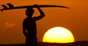 Este video de surf es mágico y es casi como meditar
