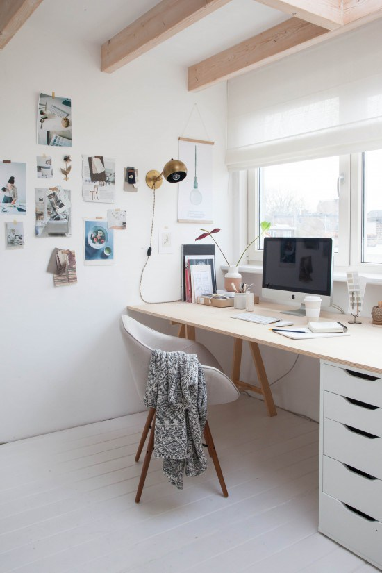 Una oficina con dise o estilo n rdico 48 el124 - Estilo nordico escandinavo ...