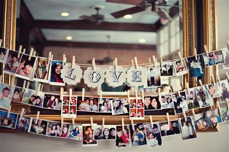 25 Ideas para agregar fotos familiares a tu hogar