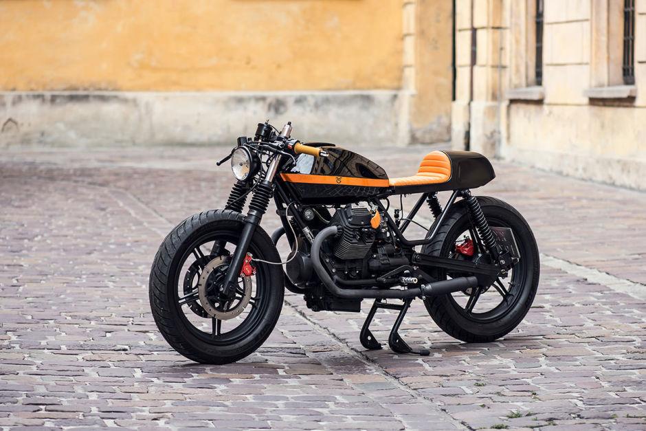Moto Guzzi V65 Customizada y perfecta