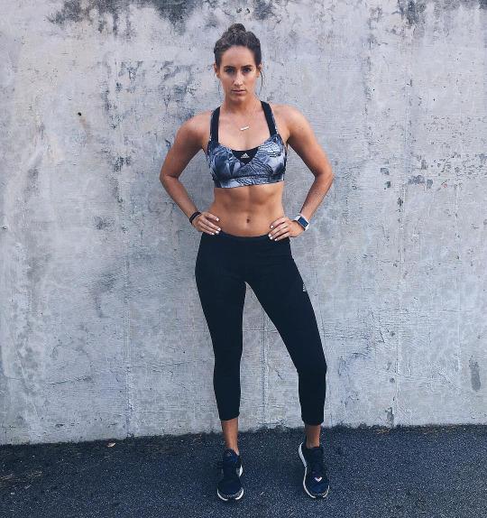 Así se ve una chica que si va al gym