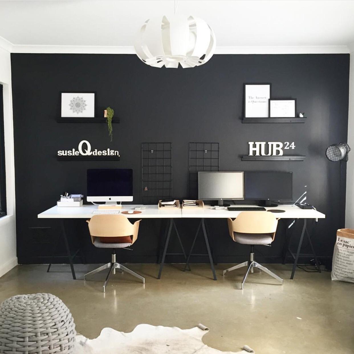 Oficinas en casa para tu inspiraci n 57 el124 for Decoracion de interiores oficinas