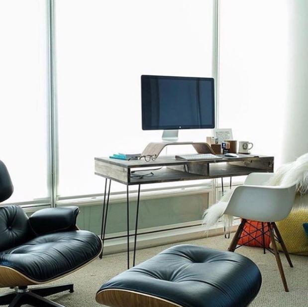 Diseño de Oficinas en casa minimalistas #59