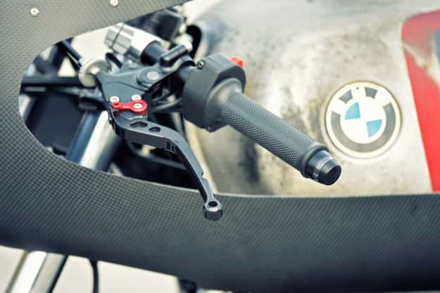Una obra de arte la BMW R80 Cafe Racer