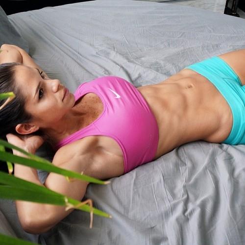 Inspiración y motivación con las mejores fotos de las chicas fitness - Michelle Lewin