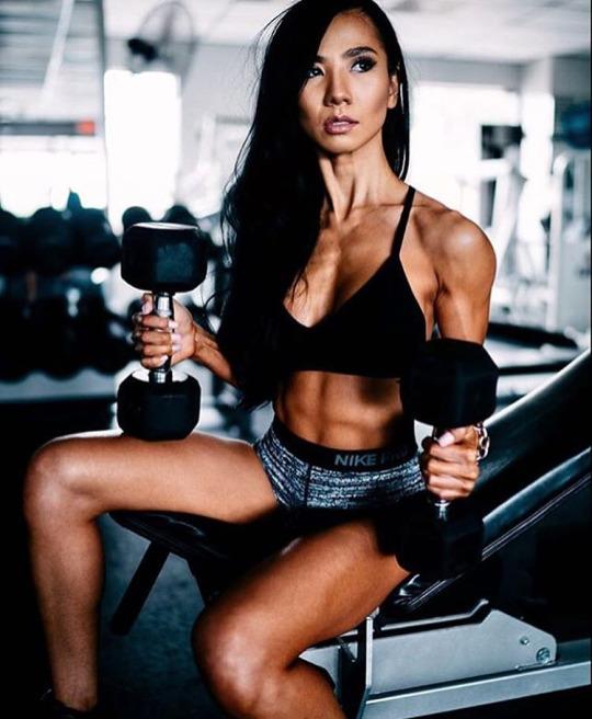 Inspiración y motivación con las mejores fotos de las chicas fitness - Pesas Gimnasio