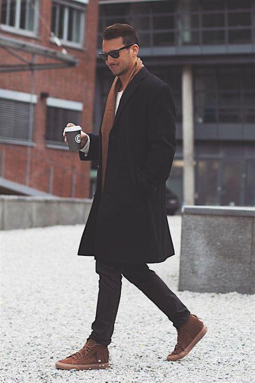 10 Ideas de outfits invernales para hombres