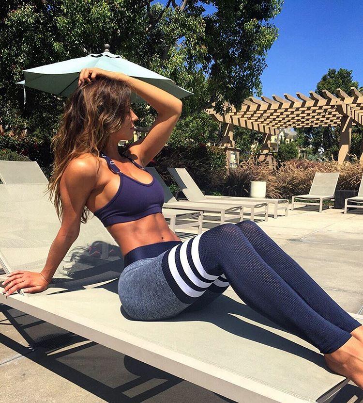 Ellas en verdad van al gym y se nota - Yoga Pants