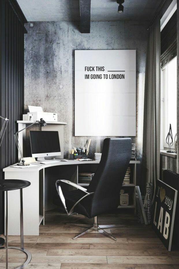 Inspiración en decoración de interiores de oficinas #60 - Deco