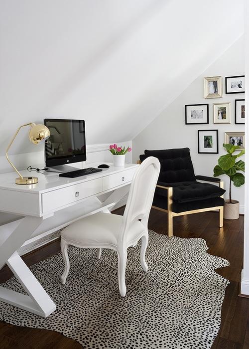 Inspiración en decoración de interiores de oficinas #60 - Minimalista