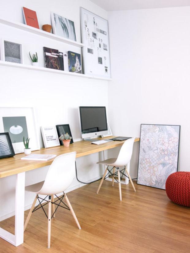 Dise o de interiores el centro de toda oficina est en el for Diseno de escritorios de oficina
