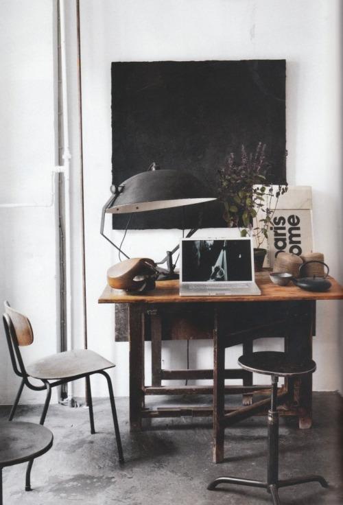 Inspiración en decoración de interiores de oficinas #60 - Boho