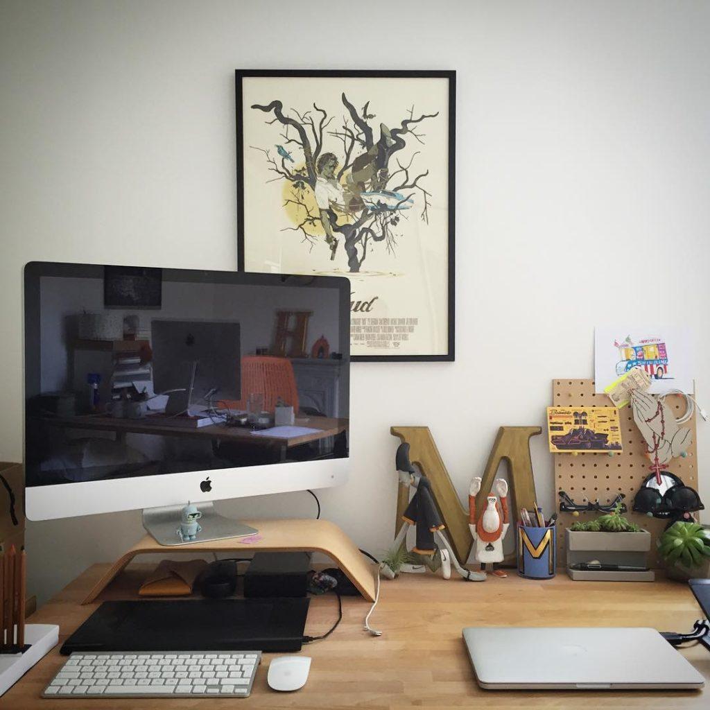 Dise o de interiores el centro de toda oficina est en el - Objetos decoracion diseno ...