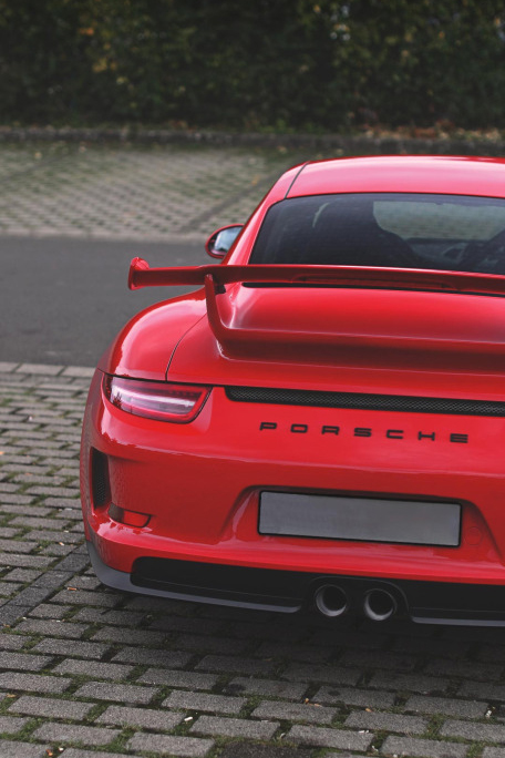 Nuevo e increíble random post para cerrar el viernes - Porsche 911 Rojo