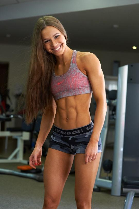Estas son las mujeres que nos inspiran a ir al gym - Sexy Abs