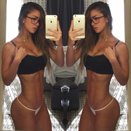 Motivación sexy para continuar entrenando en el gimnasio - Anllela Sagra