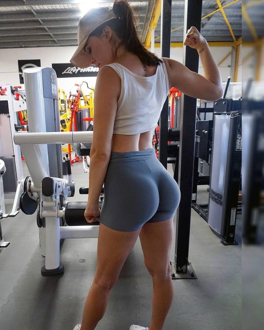 Estas son las mujeres que nos inspiran a ir al gym - Gluteo Pompa Sexy