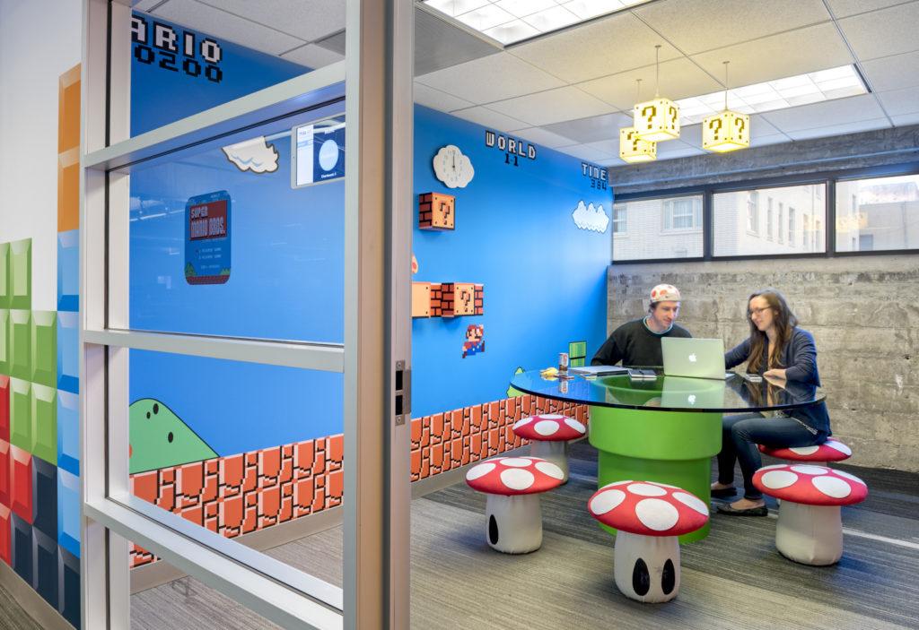 8 Cosas geniales que queremos en nuestras oficinas #66 - Video Juegos