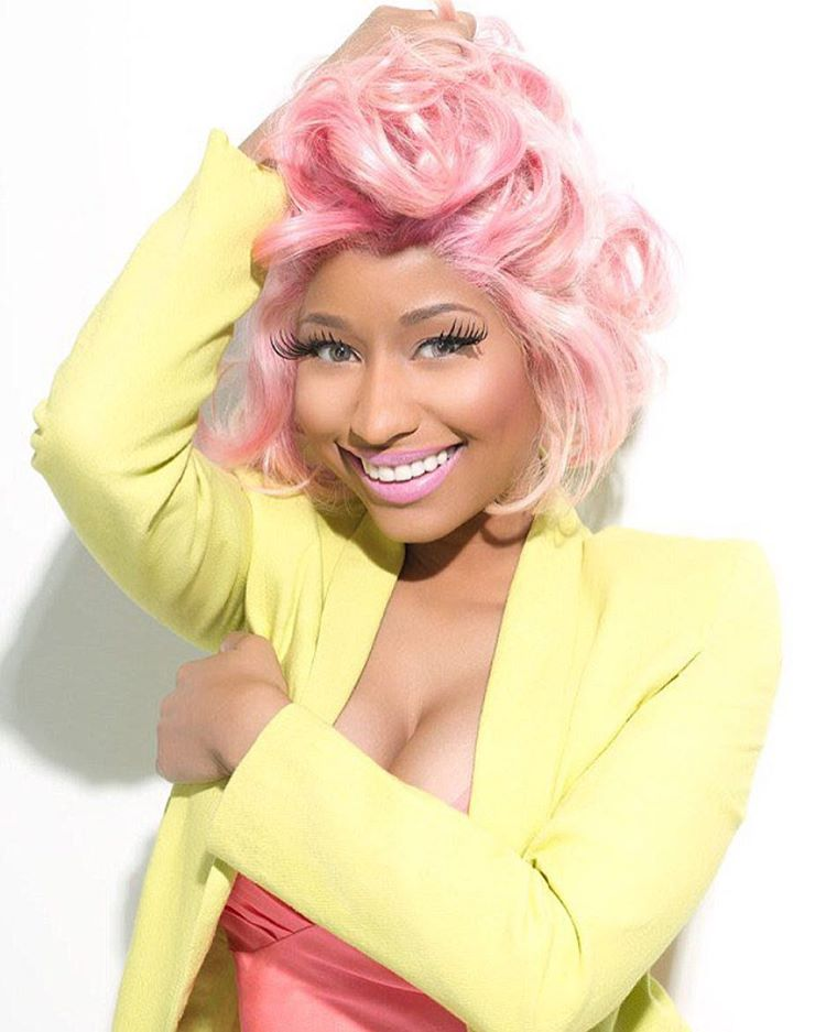 Top 10 cuentas de Instagram en 2016 - Nicki Minaj