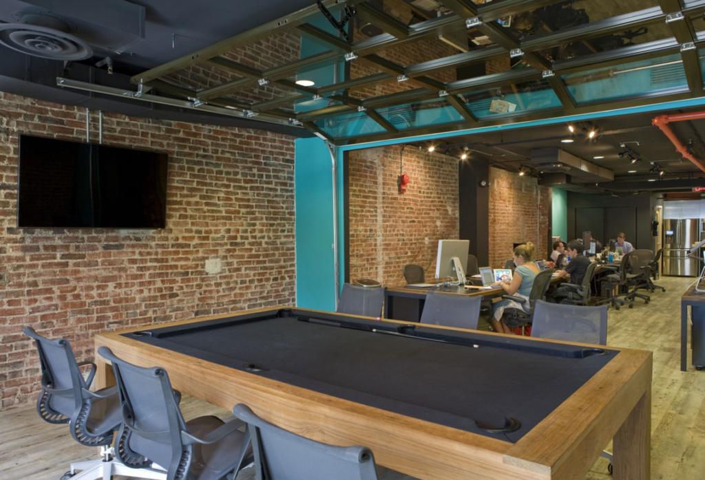 8 Cosas geniales que queremos en nuestras oficinas #66 - Mesa de Billar