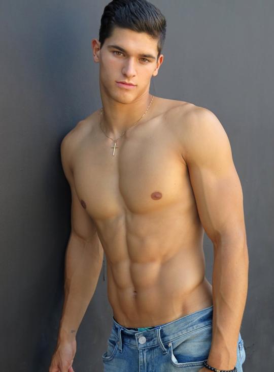Músculos marcados y definidos la meta de los hombres fitness - Oblicuos